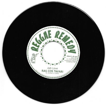 Ras Cos Tafari - Jah Love / Dub (Reggae Remedy) 7""